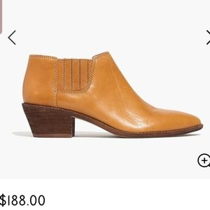 Madewell Myles ankle booties